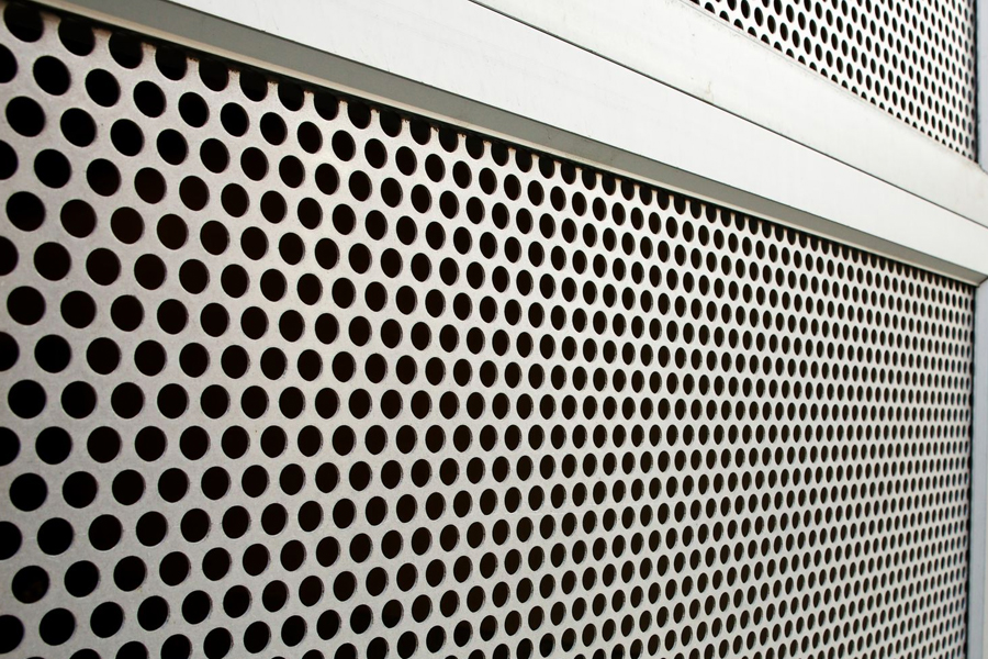 perforated shutter screen