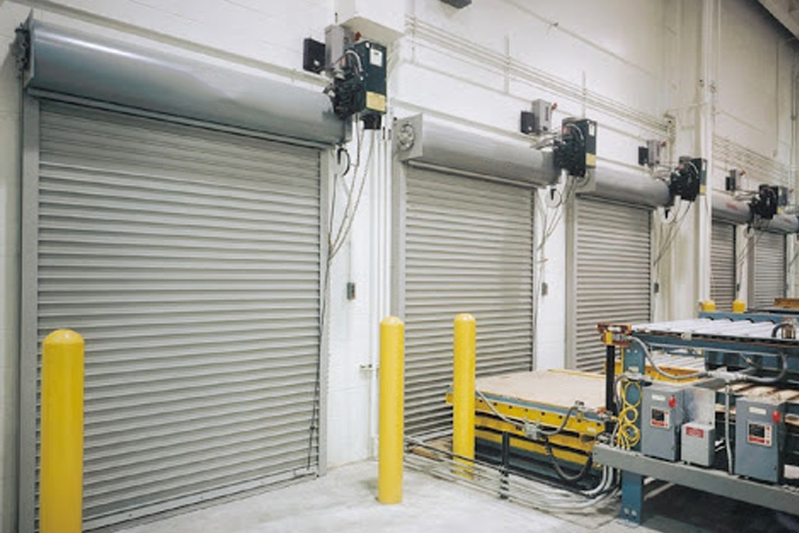 industrial fire security shutters