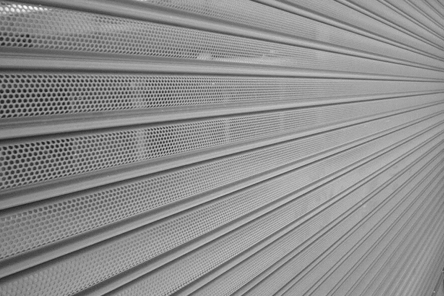 perforated screen