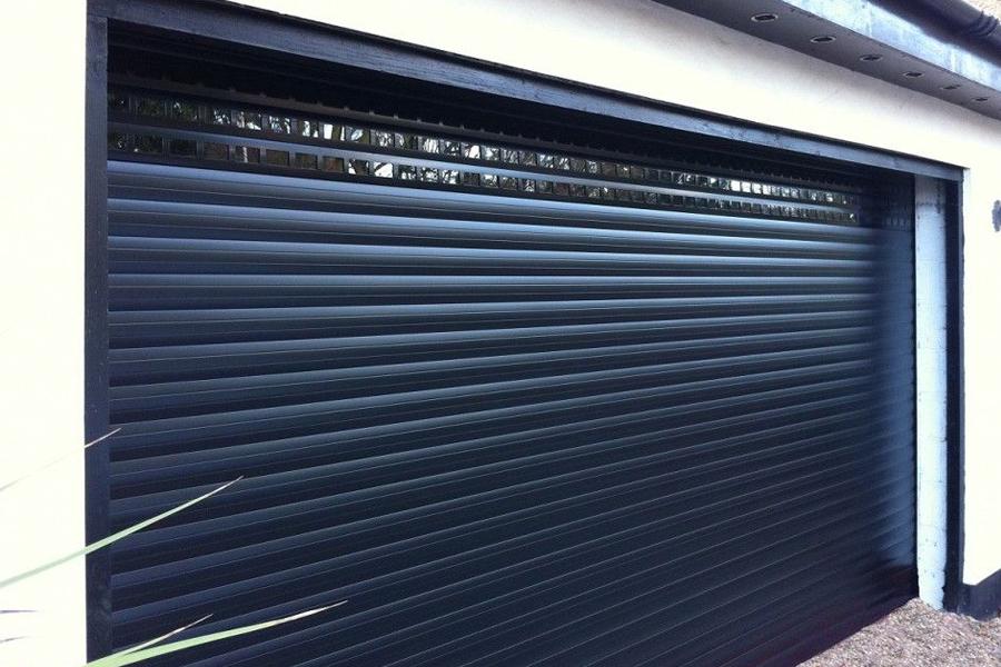 residential garage shutter