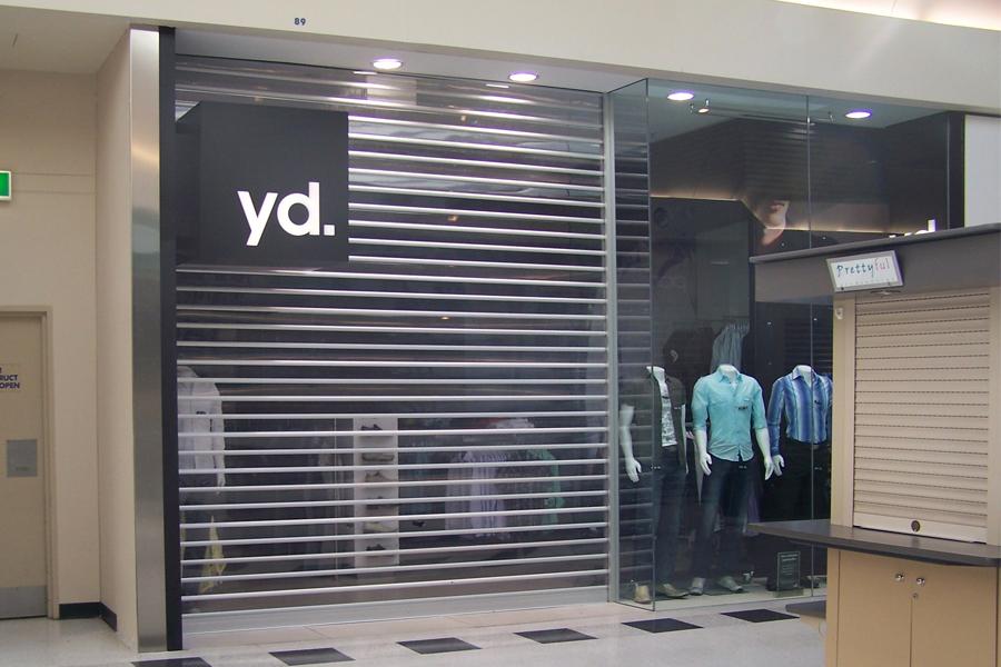 shopfront polycarbonate shutter